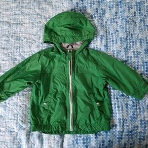 Baby gap rain/windbreaker jacket - 12-18 months